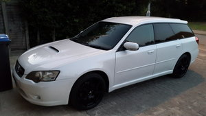 2004 JDM Subaru Legacy Twin Scroll_Manual Transmission.