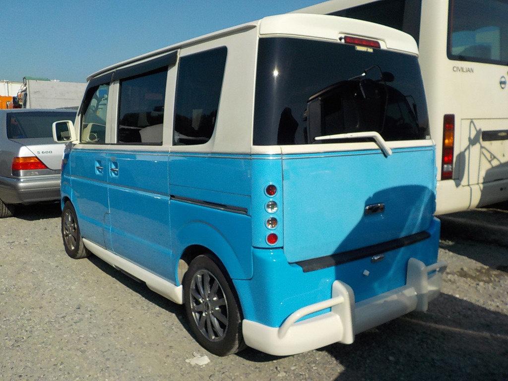 2006 SUBARU SAMBAR SUZUKI EVERY CARRY 660 TURBO MINI RETRO For Sale (picture 2 of 6)