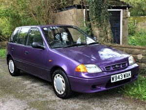 Subaru Justy 1.3 AWD 5dr - RARE RETRO CAR 2000 W