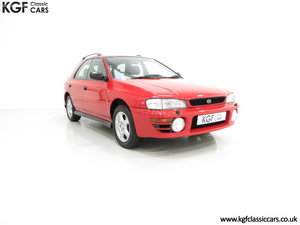 1997 A Time Warp Subaru Impreza 2.0 Sport AWD with 16,983 Miles SOLD