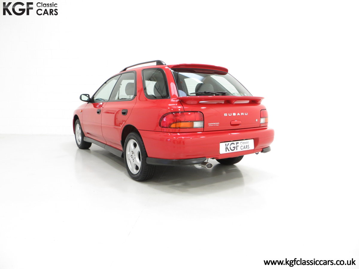 1997 A Time Warp Subaru Impreza 2.0 Sport AWD with 16,983 Miles SOLD (picture 4 of 6)