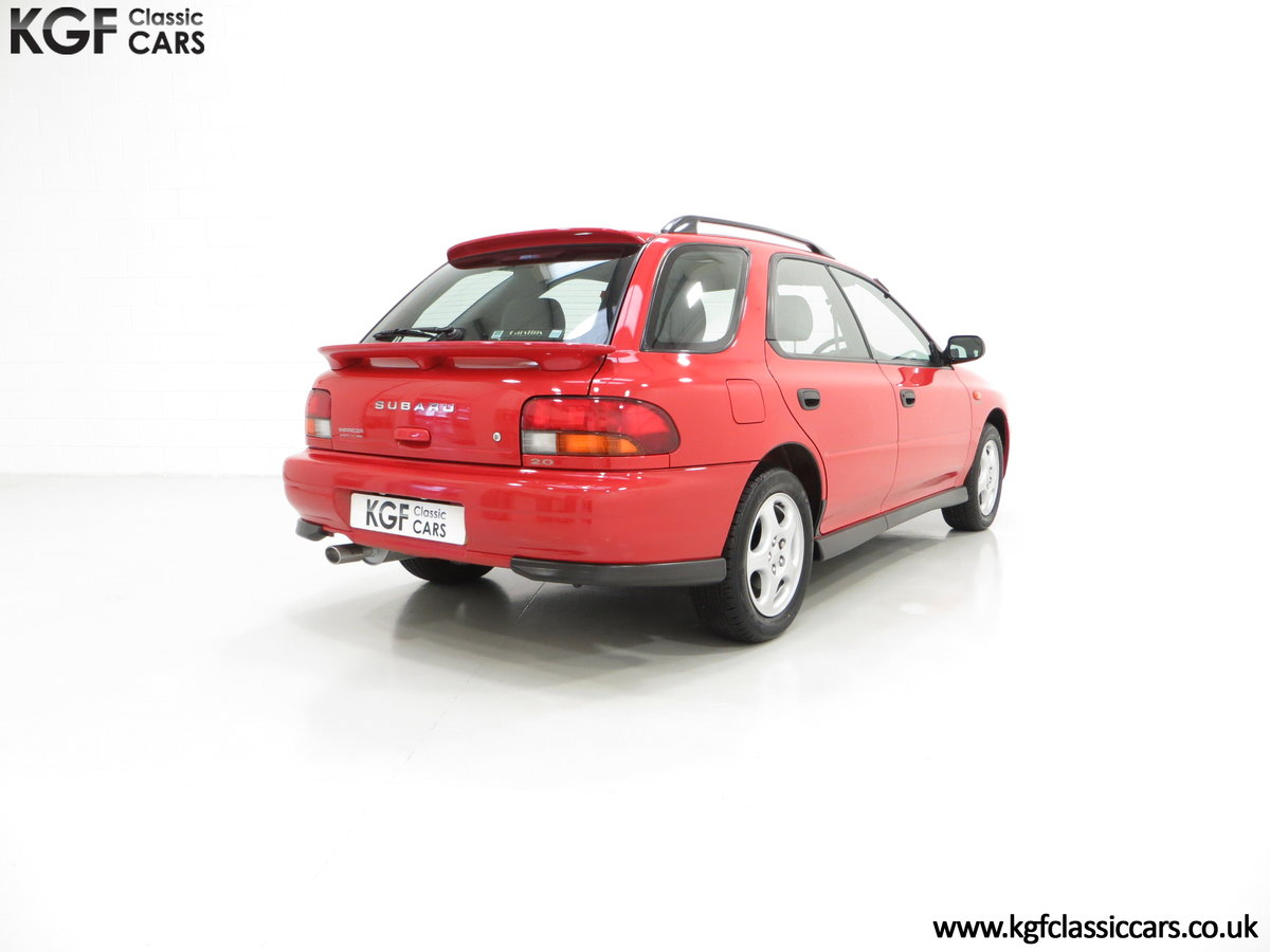 1997 A Time Warp Subaru Impreza 2.0 Sport AWD with 16,983 Miles SOLD (picture 5 of 6)