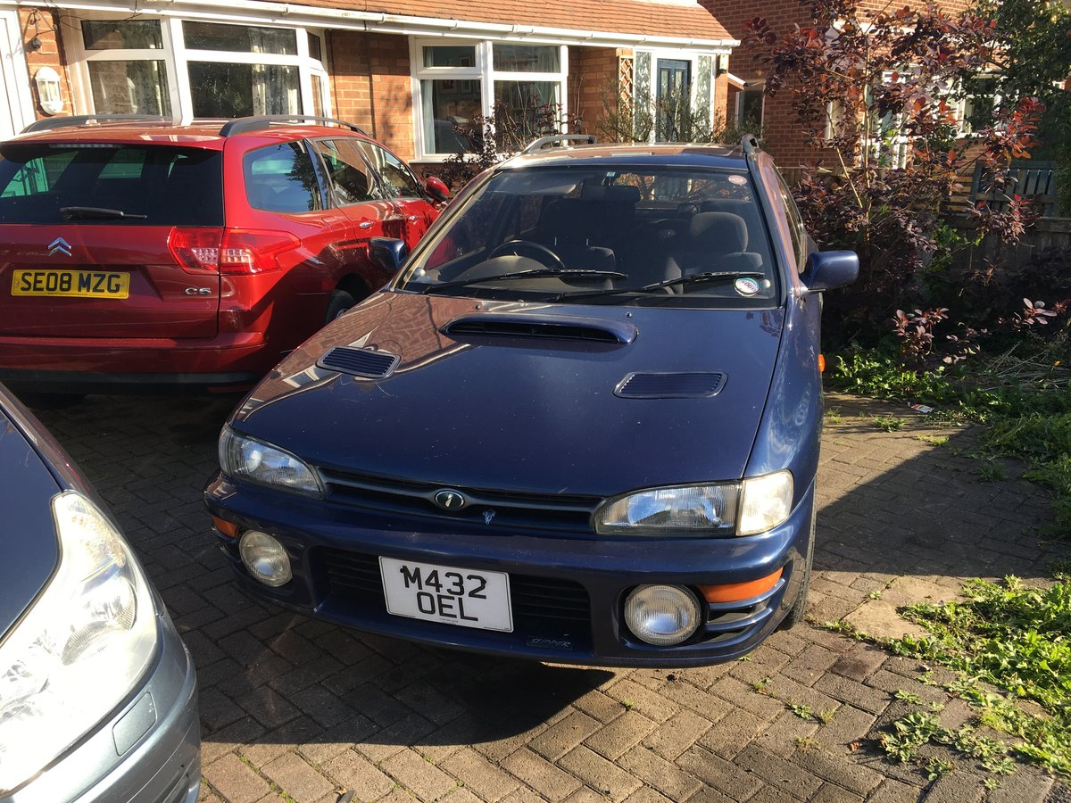 1995 Subaru wrx turbo waggon auto Very rare  For Sale (picture 1 of 6)