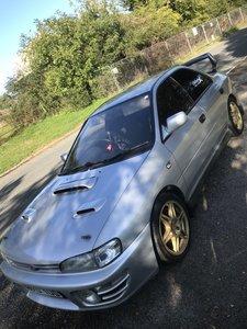 1993 Subaru impreza wrx jdm import