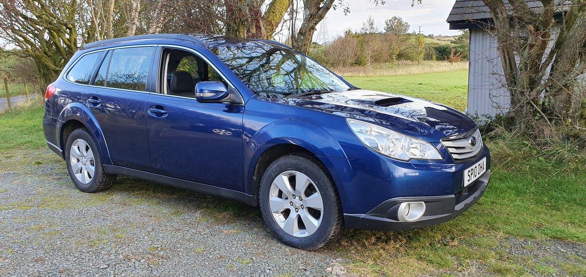 2010 Subaru Outback SE 2.0D AWD Estate 6spd 85k FSH New Mot SOLD (picture 1 of 6)
