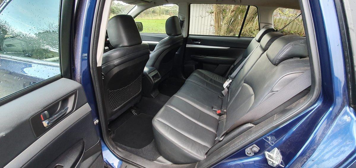 2010 Subaru Outback SE 2.0D AWD Estate 6spd 85k FSH New Mot For Sale (picture 3 of 6)