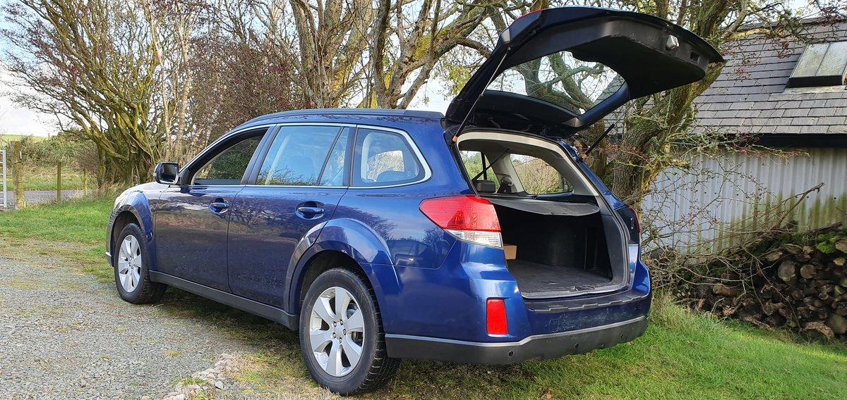 2010 Subaru Outback SE 2.0D AWD Estate 6spd 85k FSH New Mot For Sale (picture 5 of 6)