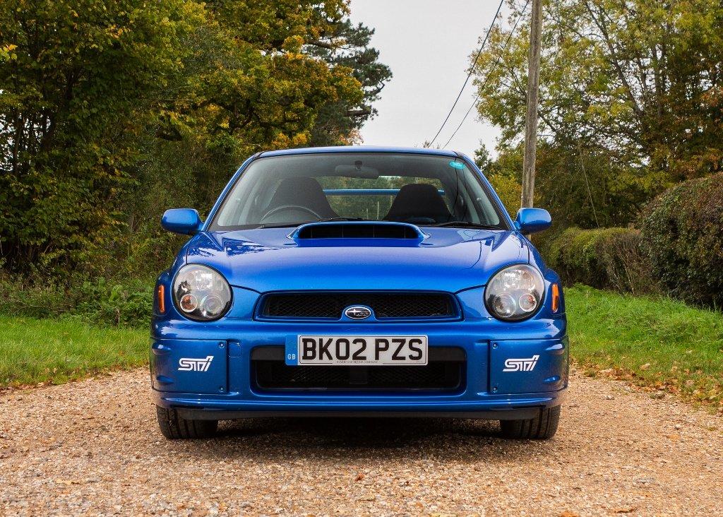 2002 Subaru Impreza WRX STi SOLD by Auction (picture 1 of 6)