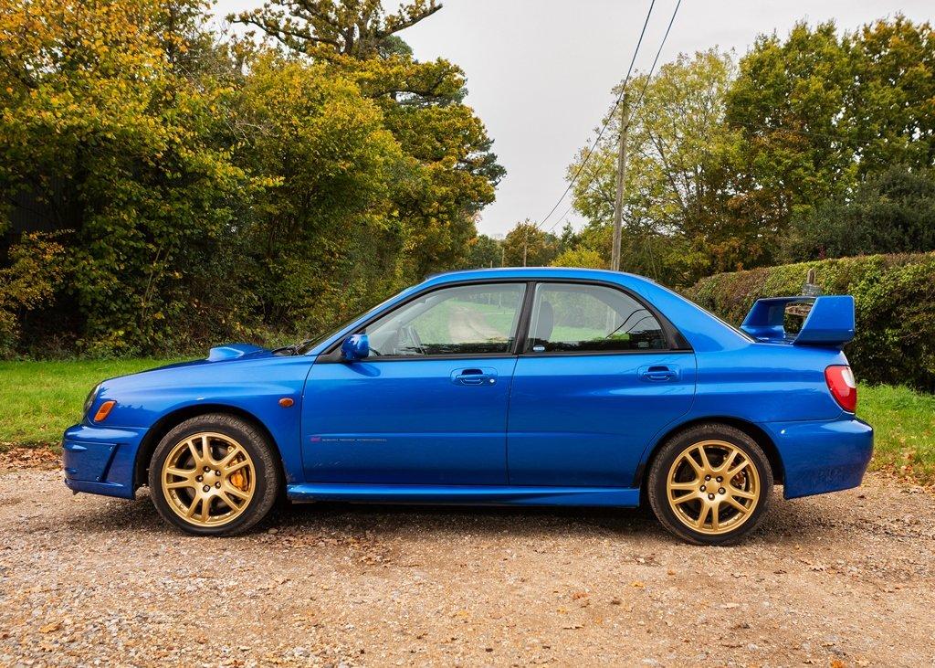 2002 Subaru Impreza WRX STi SOLD by Auction (picture 2 of 6)