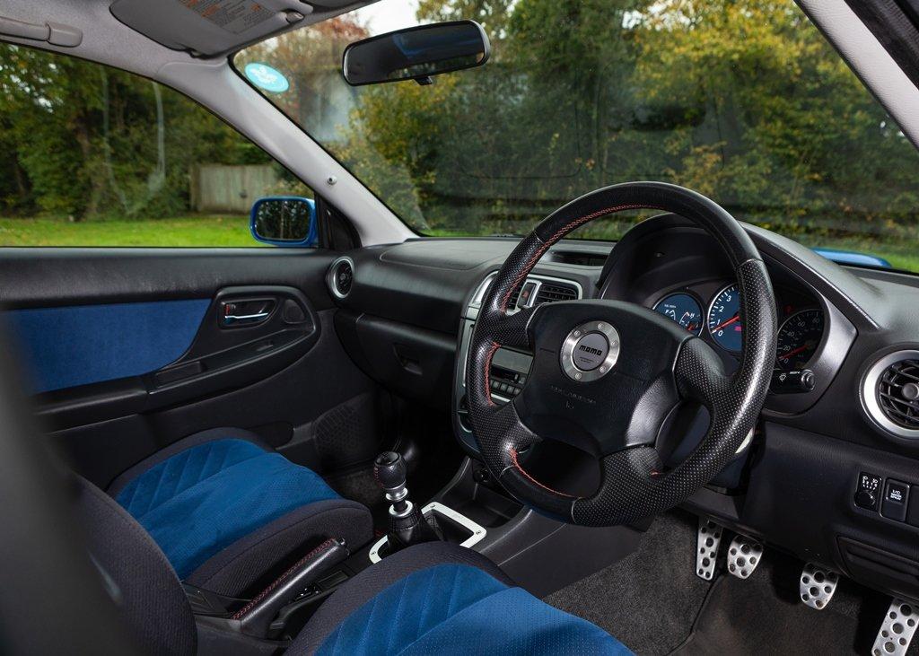 2002 Subaru Impreza WRX STi SOLD by Auction (picture 3 of 6)
