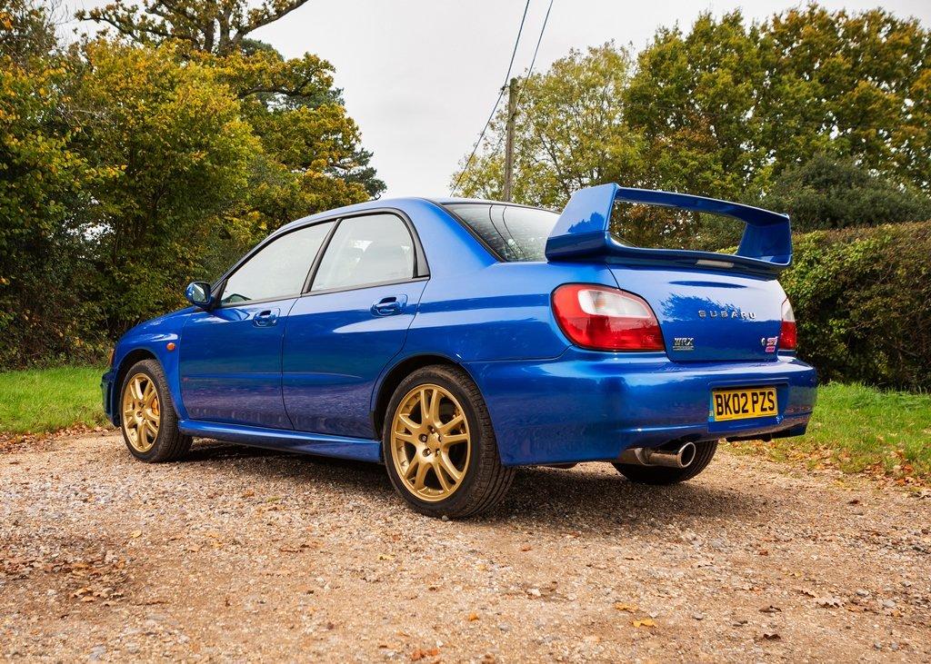 2002 Subaru Impreza WRX STi SOLD by Auction (picture 6 of 6)