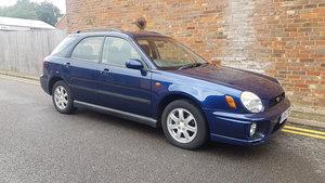 2001 Subaru Impreza GX AWD Auto 46,000 miles Y reg  For Sale