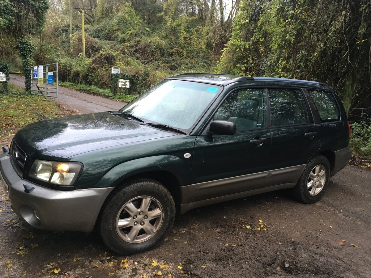 2005 Subaru Forester X All Weather SOLD (picture 1 of 6)