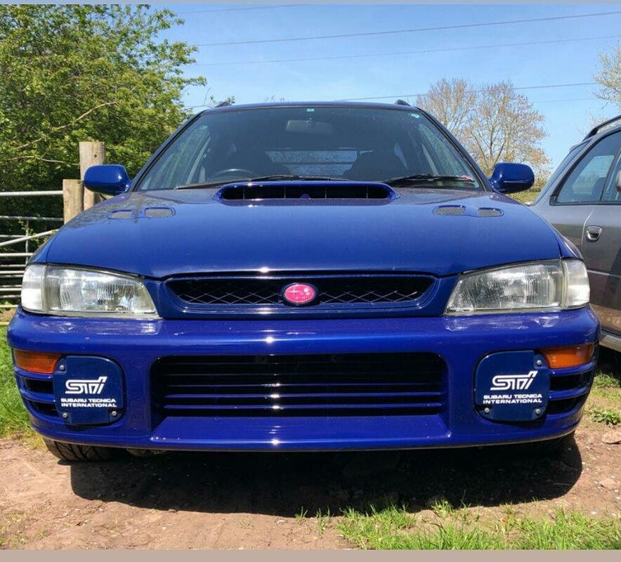 1997 Subaru Impreza Rare STI  V-Limited Wagon SOLD (picture 2 of 6)