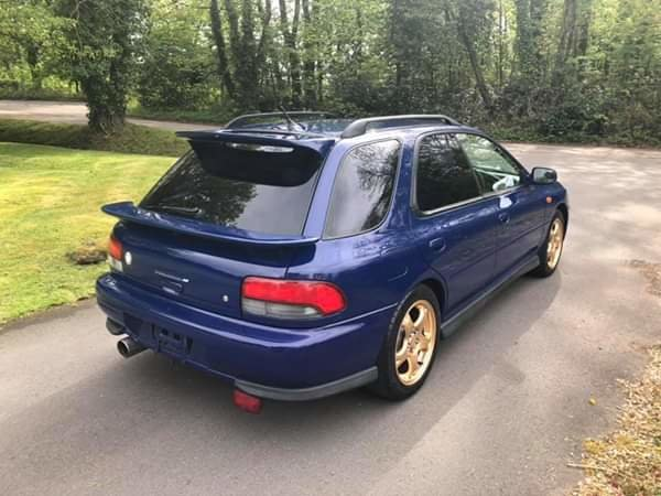1997 Subaru Impreza Rare STI  V-Limited Wagon SOLD (picture 3 of 6)