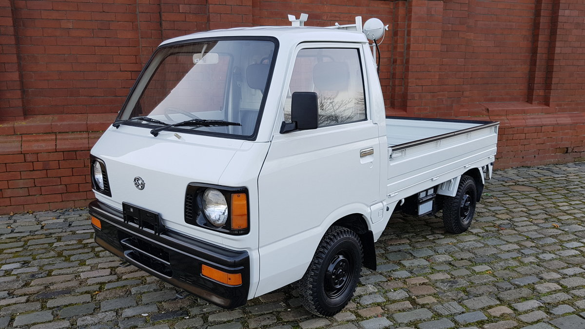 1987 SUBARU SAMBAR TRUCK ONLY 5390 MILES * MOBILE DROPSIDE For Sale (picture 1 of 6)