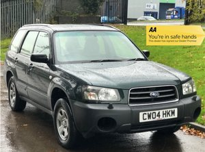 2004 Subaru Forester X 2.0 Manual - GREAT CAR! For Sale