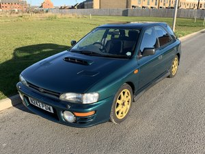 1996 Subaru Impreza Turbo wagon, genuine Prodrive