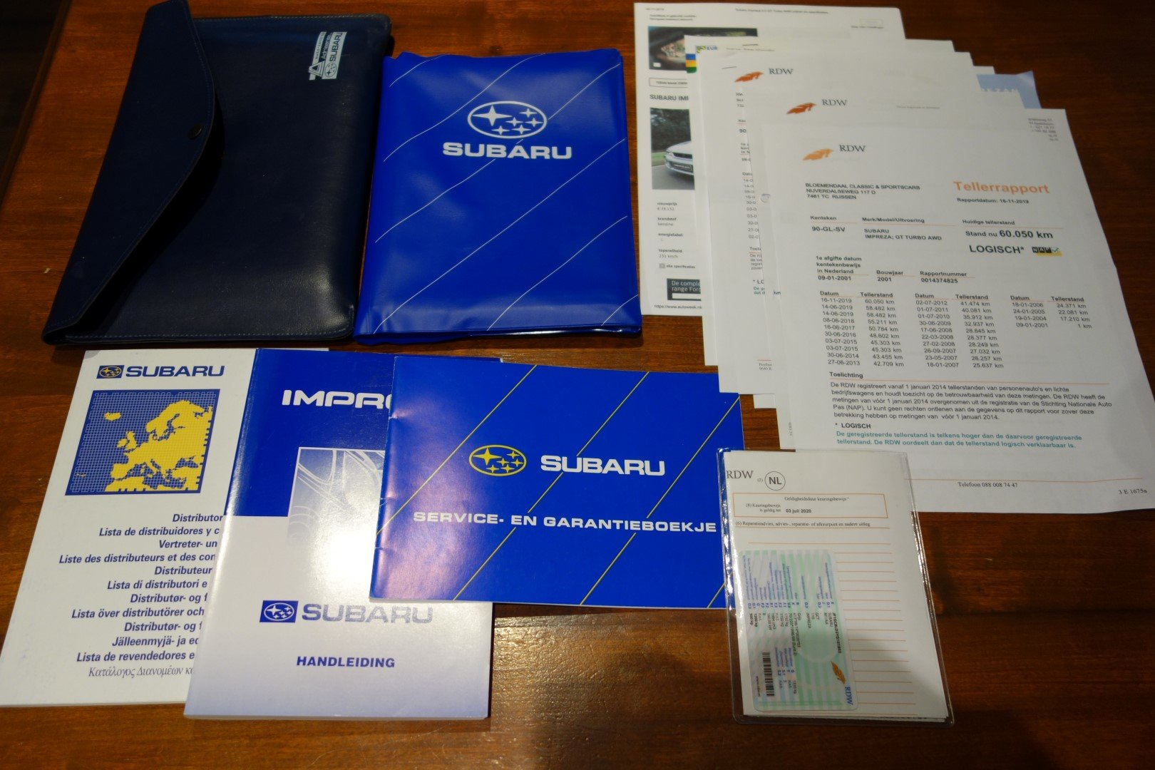 2001 Subaru Impreza 2.0 GT AWD Turbo For Sale (picture 6 of 6)
