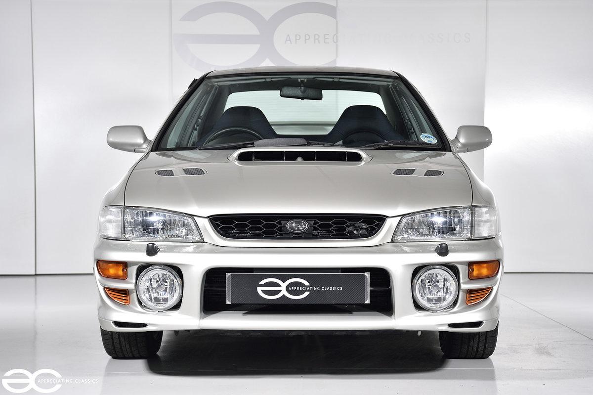 Incredible UK Subaru Impreza Turbo 2000 - 3k miles! SOLD (picture 1 of 6)