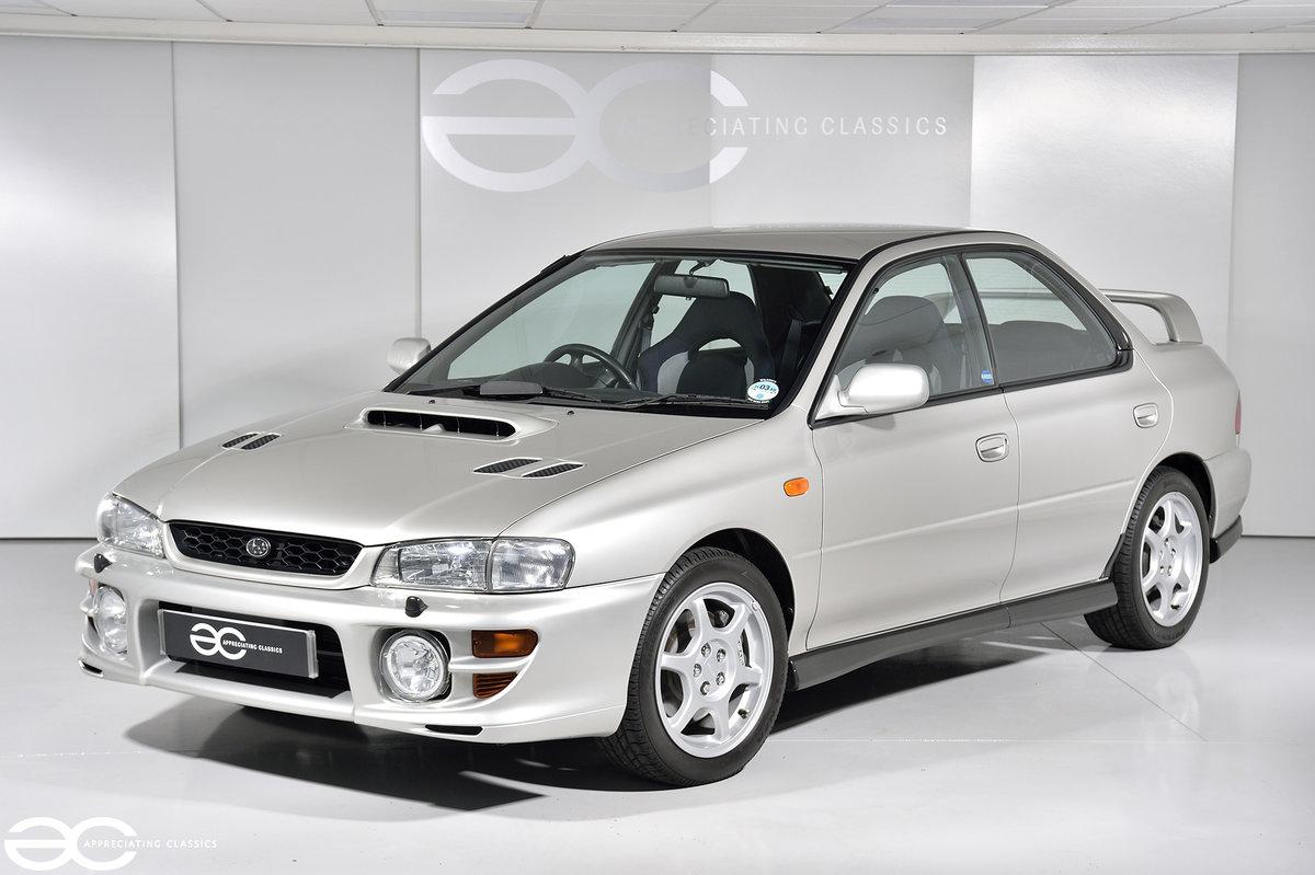Incredible UK Subaru Impreza Turbo 2000 - 3k miles! SOLD (picture 2 of 6)
