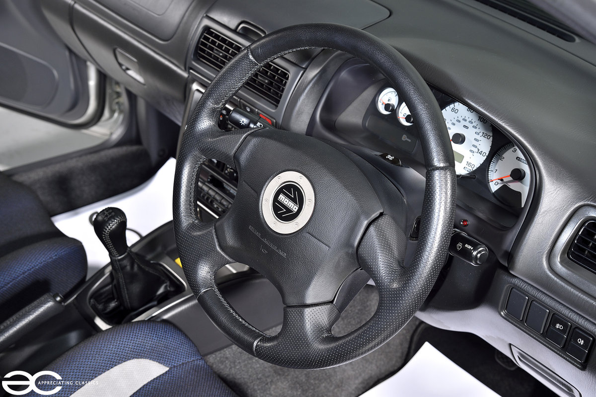 Incredible UK Subaru Impreza Turbo 2000 - 3k miles! SOLD (picture 5 of 6)