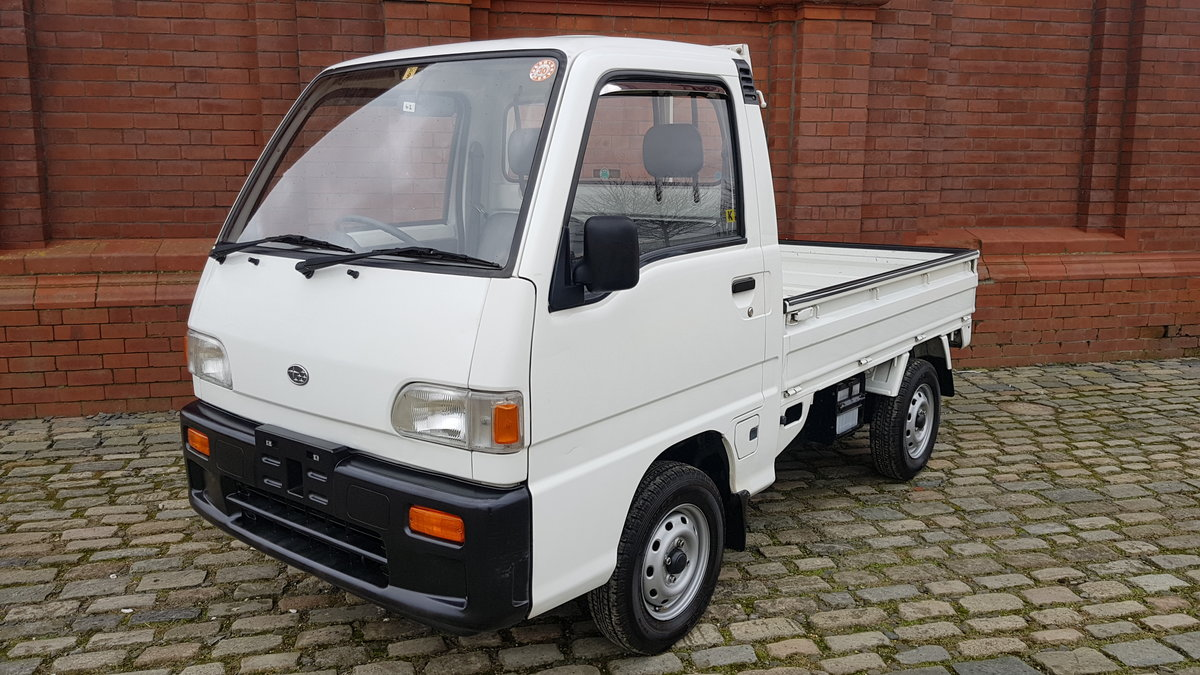 1995 SUBARU SAMBAR 4X4 660 SDX PICKUP TRUCK * ONLY 18000 MILES * For Sale (picture 1 of 6)