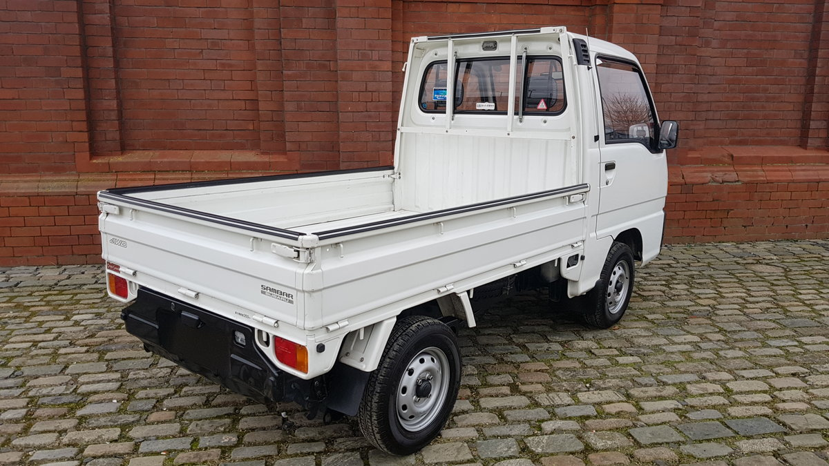 1995 SUBARU SAMBAR 4X4 660 SDX PICKUP TRUCK * ONLY 18000 MILES * For Sale (picture 2 of 6)