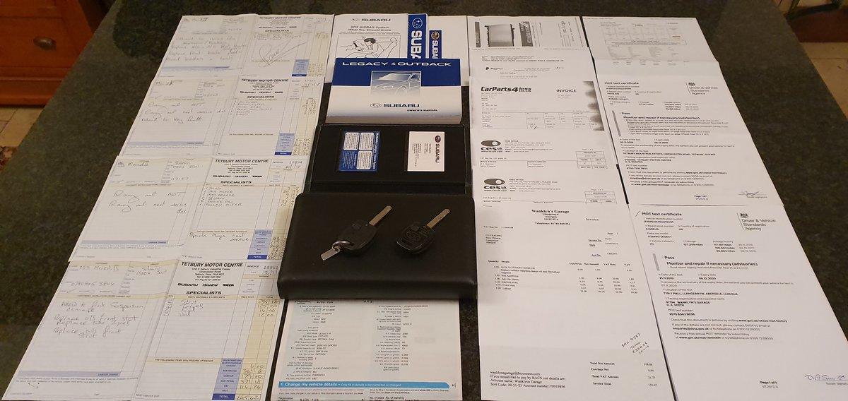 2006  Subaru Legacy R 3.0 H6 Estate 6spd man Sat Nav Dec 2020 mot For Sale (picture 3 of 6)