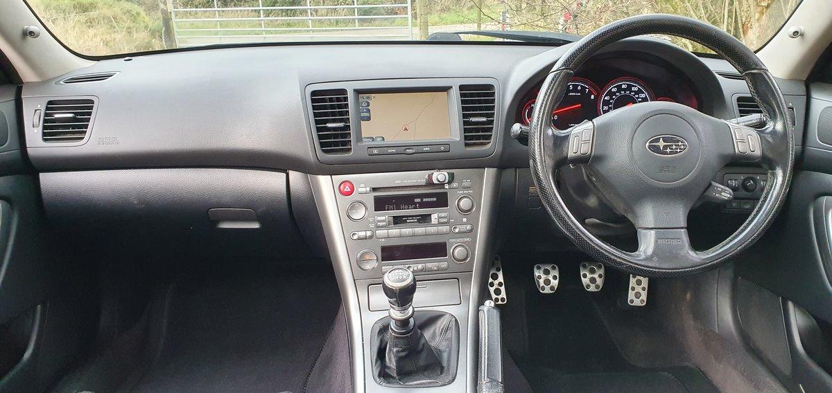 2006  Subaru Legacy R 3.0 H6 Estate 6spd man Sat Nav Dec 2020 mot For Sale (picture 5 of 6)