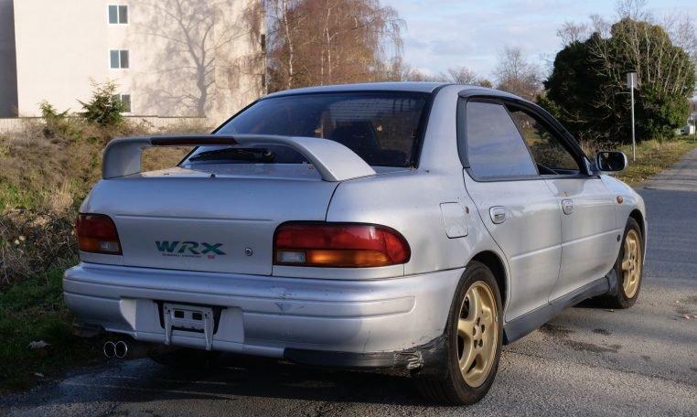 1996 Subaru Impreza WRX STi Canada RHD Manual  $5.9k For Sale (picture 2 of 6)