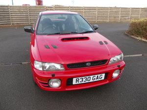 1997 Subaru Impreza Turbo Classic Shape