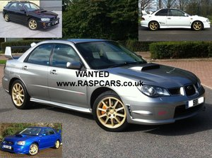 2000 WANTED ALL IMPREZA TURBO MODELS. UK OR IMPORT Wanted