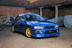 2001 Subaru Impreza P1 Prodrive STi 2.0 Turbo Sonic Blue UK Car