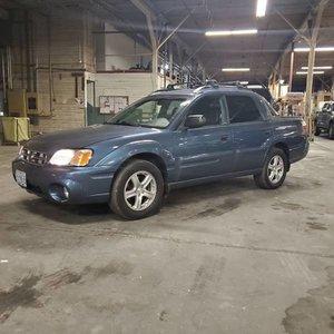2006 Subaru Baja Sport Car(~)Truck 4WD 4 Doors Blue $7.5k