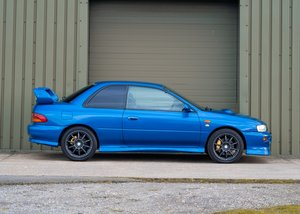 2000 Subaru Impreza Turbo P1 SOLD by Auction