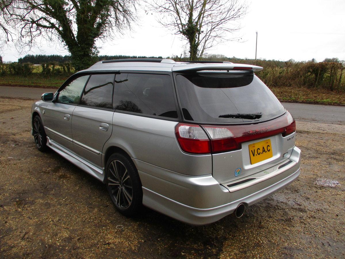 2002 Subaru legacy GTB turbo E Tune 11 Automatic  SOLD (picture 4 of 6)