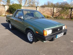1990 Subaru Brat 4WD SOLD by Auction