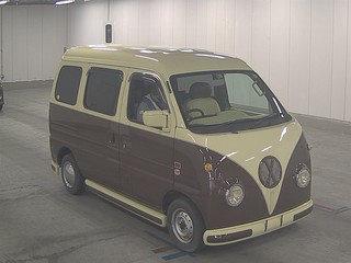 2005 SUBARU SAMBAR SUZUKI EVERY 660CC MINI SAMBAR RETRO CAMPER VA For Sale