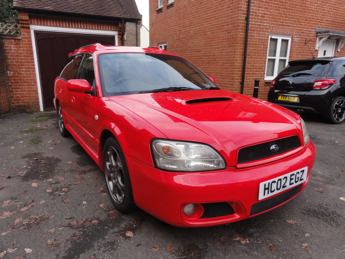 2002 Subaru Legacy Blitzen Twin Turbo Estate For Sale (picture 1 of 6)