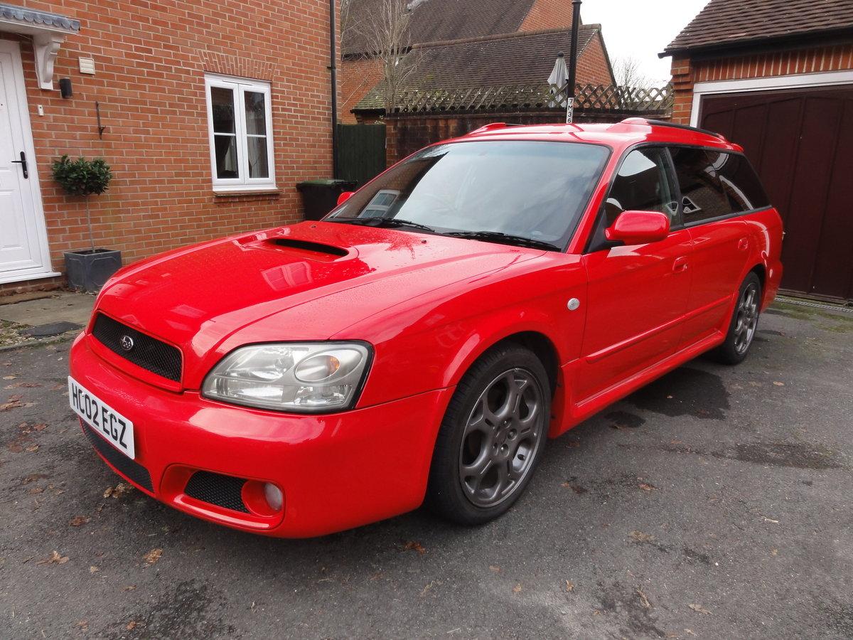 2002 Subaru Legacy Blitzen Twin Turbo Estate For Sale (picture 2 of 6)