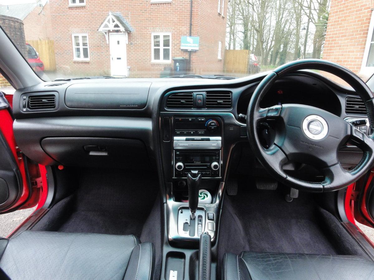 2002 Subaru Legacy Blitzen Twin Turbo Estate For Sale (picture 6 of 6)