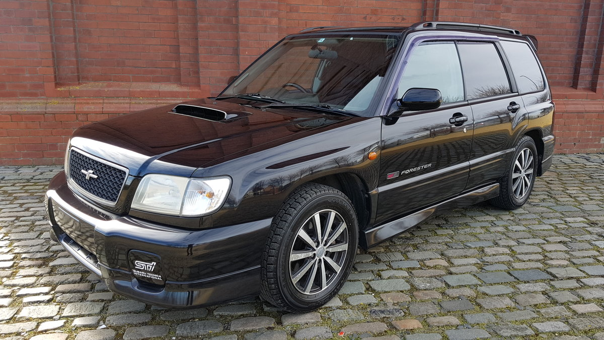 2000 SUBARU FORESTER STI / TB RARE JDM 250 BHP AWD 4X4 AUTO * LOW For Sale (picture 1 of 6)