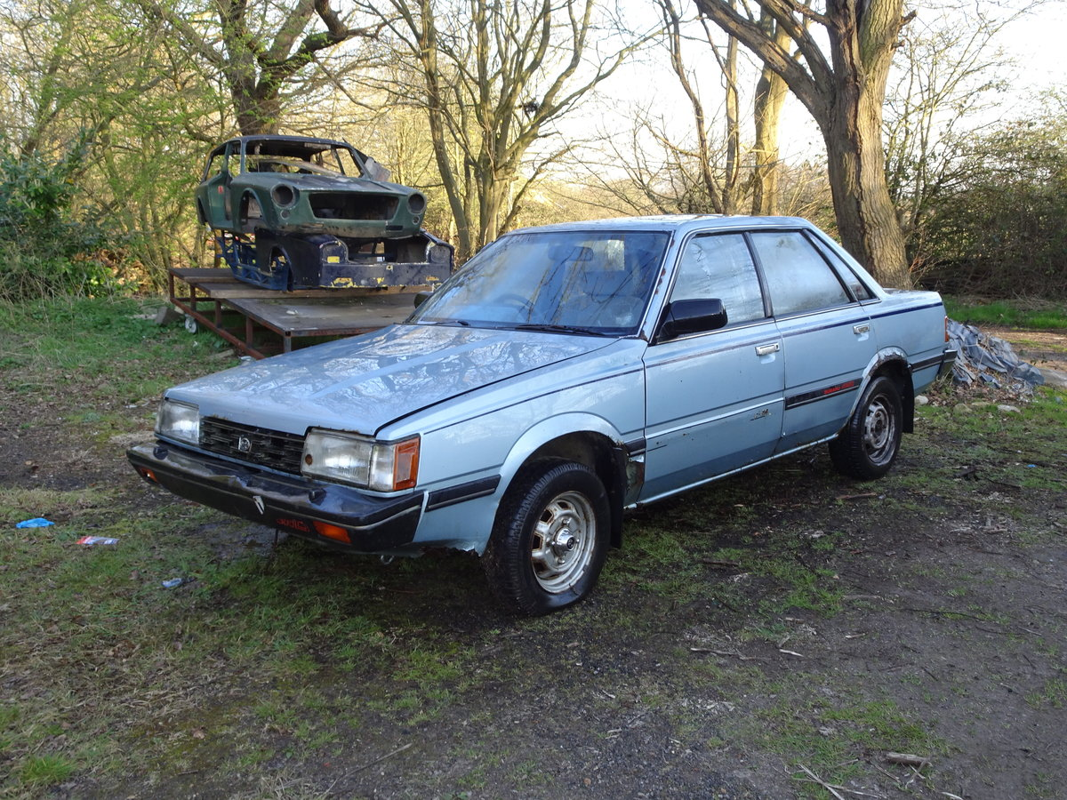 1985 Extremely rare restoration  project subaru automat For Sale (picture 1 of 6)