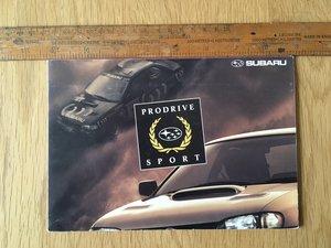 Picture of 2000 Subaru Impreza Prodrive brochure SOLD
