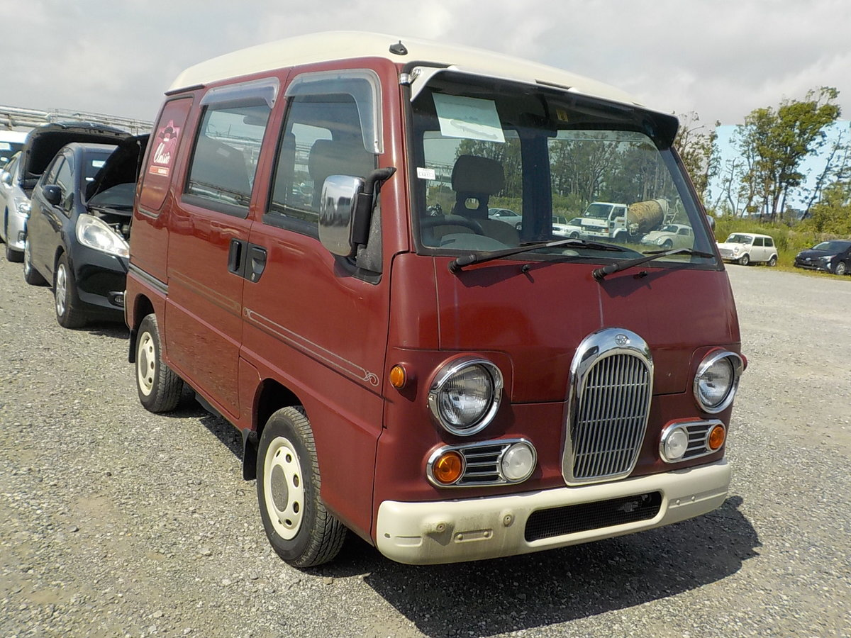 1998 SUBARU SAMBAR RARE CLASSIC EDITION 4X4 * ONLY 40000 MILES *  For Sale (picture 1 of 5)