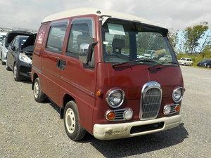 1998 SUBARU SAMBAR RARE CLASSIC EDITION 4X4 * ONLY 40000 MILES *