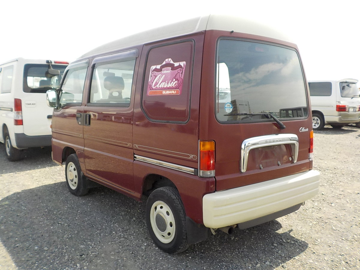 1998 SUBARU SAMBAR RARE CLASSIC EDITION 4X4 * ONLY 40000 MILES *  For Sale (picture 2 of 5)