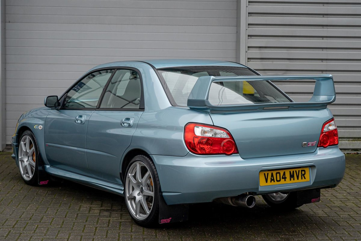 2004 Subaru Impreza 2.0 WR1 STI 4DR - NUMBER 296 SOLD (picture 2 of 6)