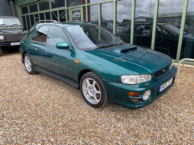 2000 Subaru Impreza Turbo Sportwagon, 1 owner For Sale (picture 1 of 6)